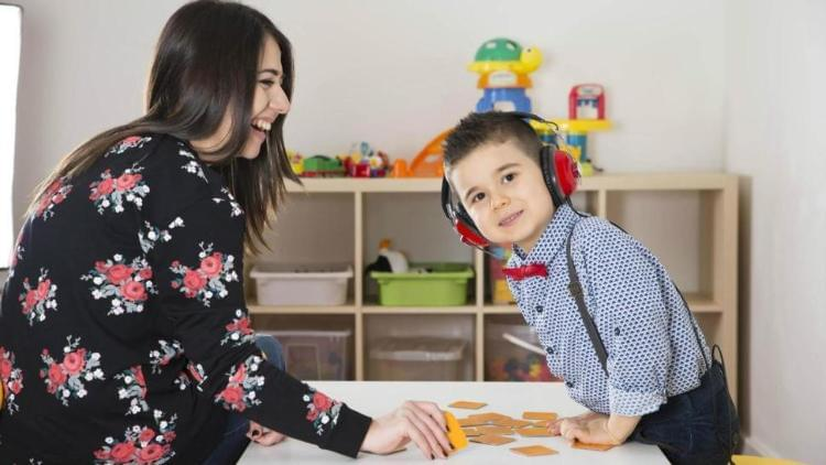 Activating speech development