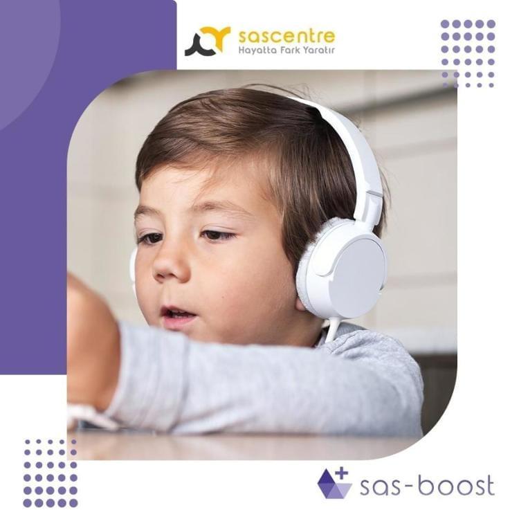 Otizm alanında uyguladığımız SAS Boost Dinleti Programı